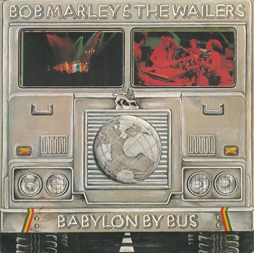 BOB MARLEY AND THE WAILERS Babylon By Bus Vinyl Record LP Island 1978